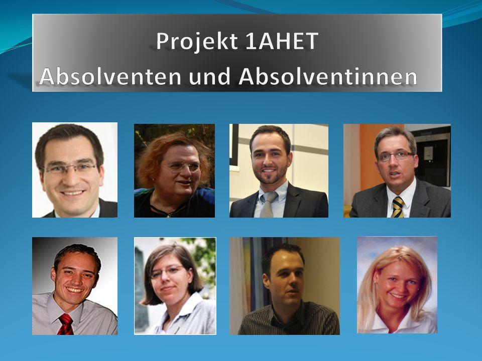 Projekt 1AHET Absolventen und Absolventinnen