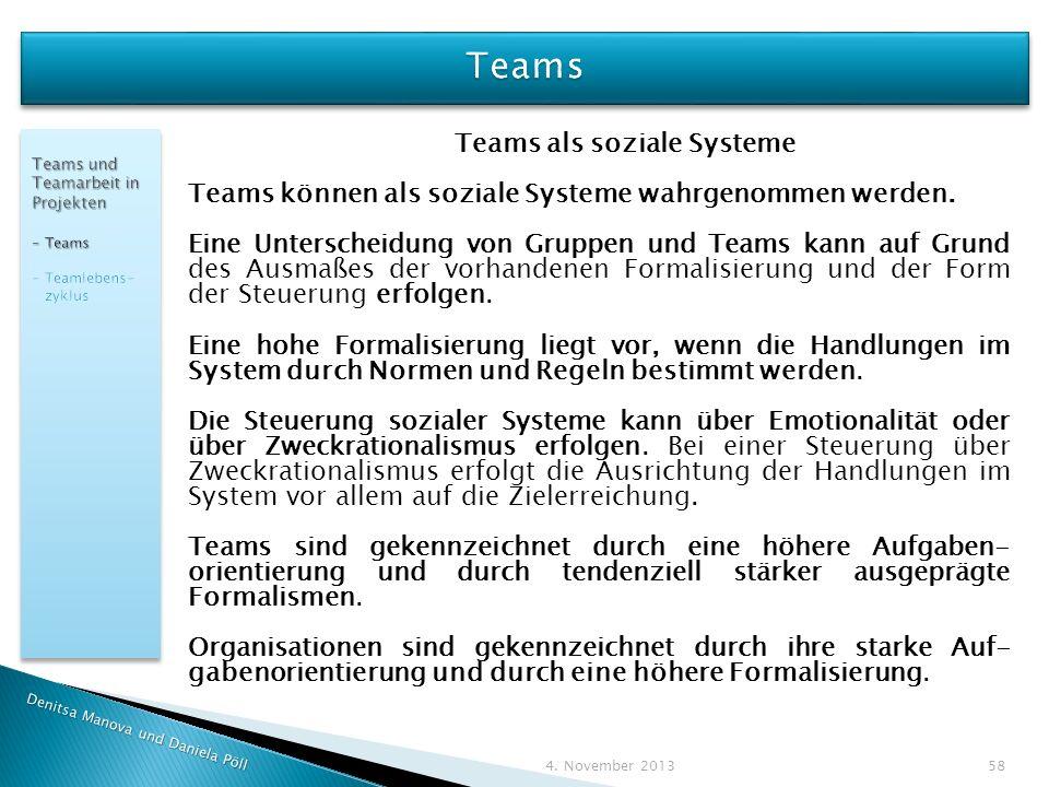 Teams als soziale Systeme