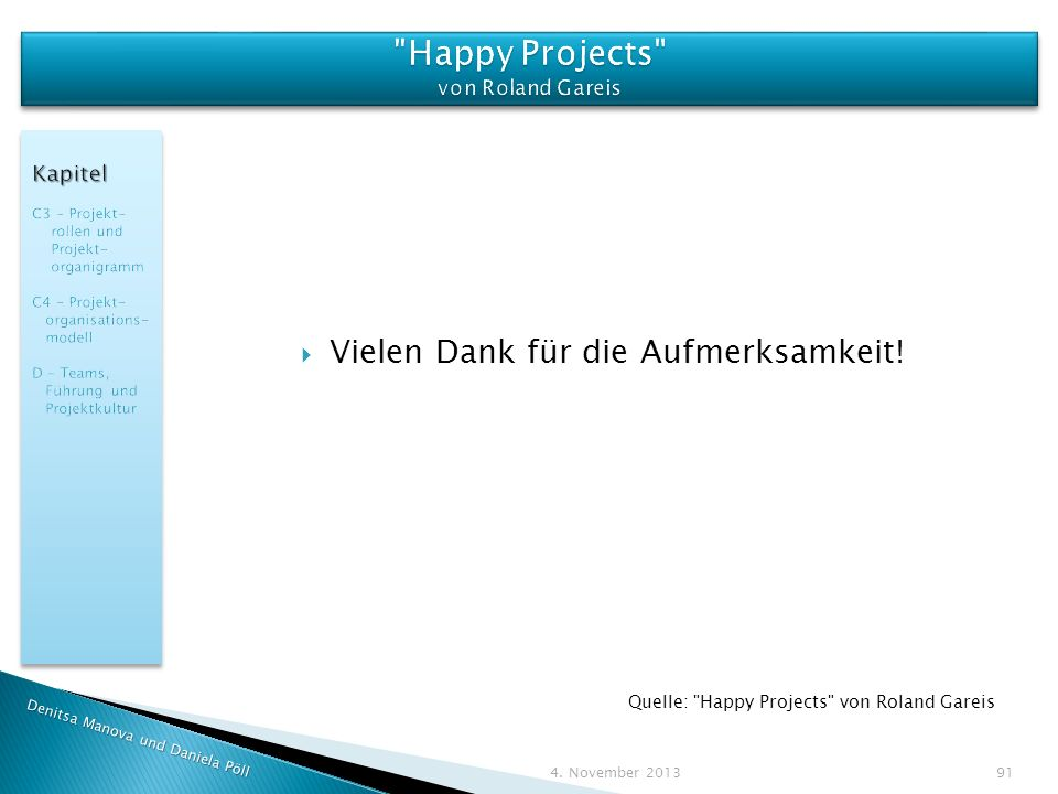 Happy Projects von Roland Gareis