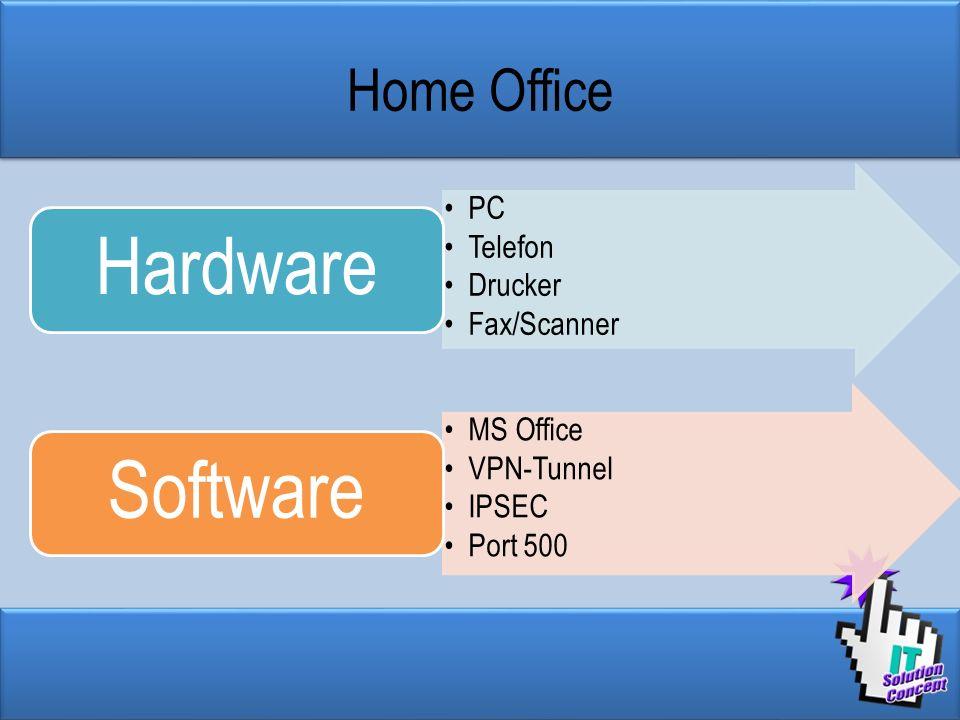 Hardware Software Home Office PC Telefon Drucker Fax/Scanner MS Office