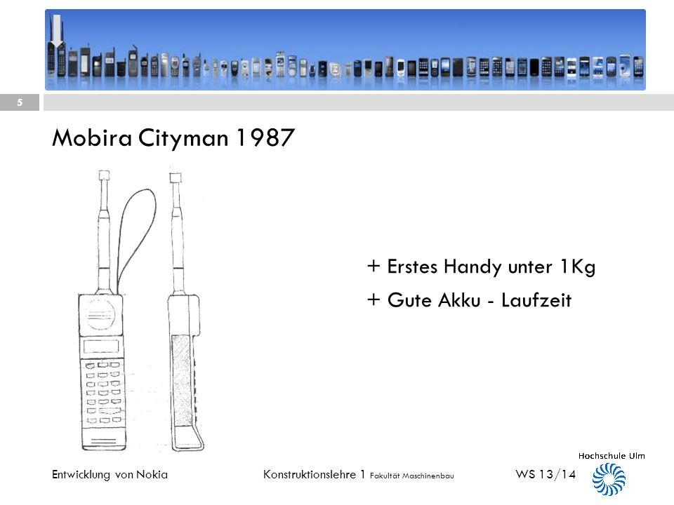 Mobira Cityman 1987 + Erstes Handy unter 1Kg + Gute Akku - Laufzeit