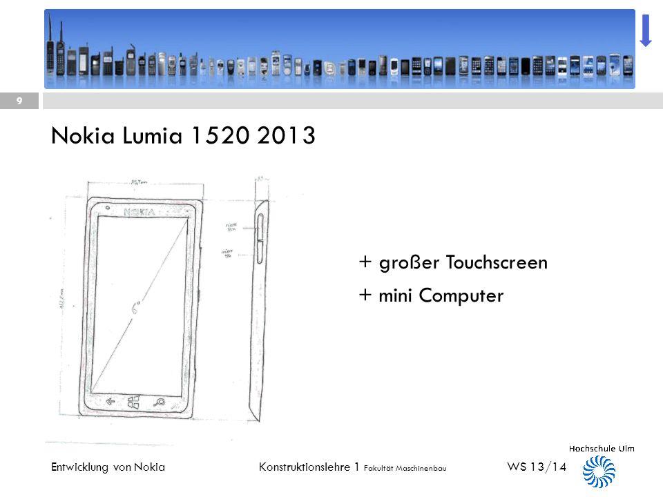 Nokia Lumia 1520 2013 + großer Touchscreen + mini Computer