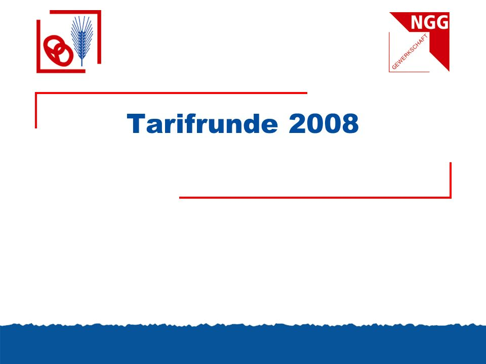 Tarifrunde 2008