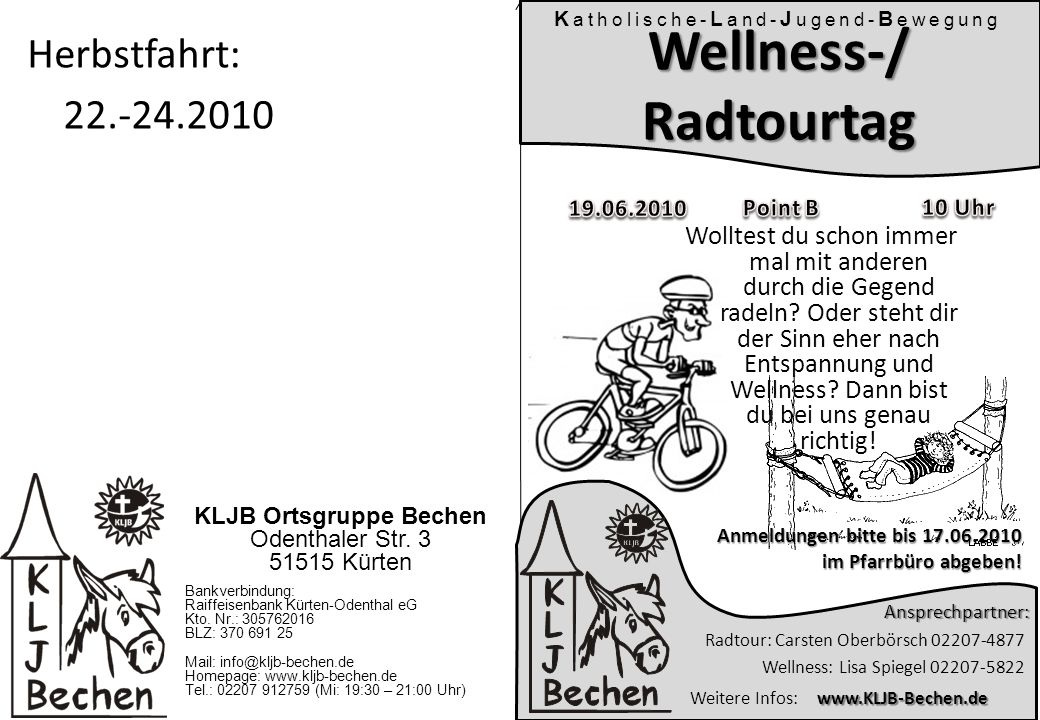 Wellness-/ Radtourtag