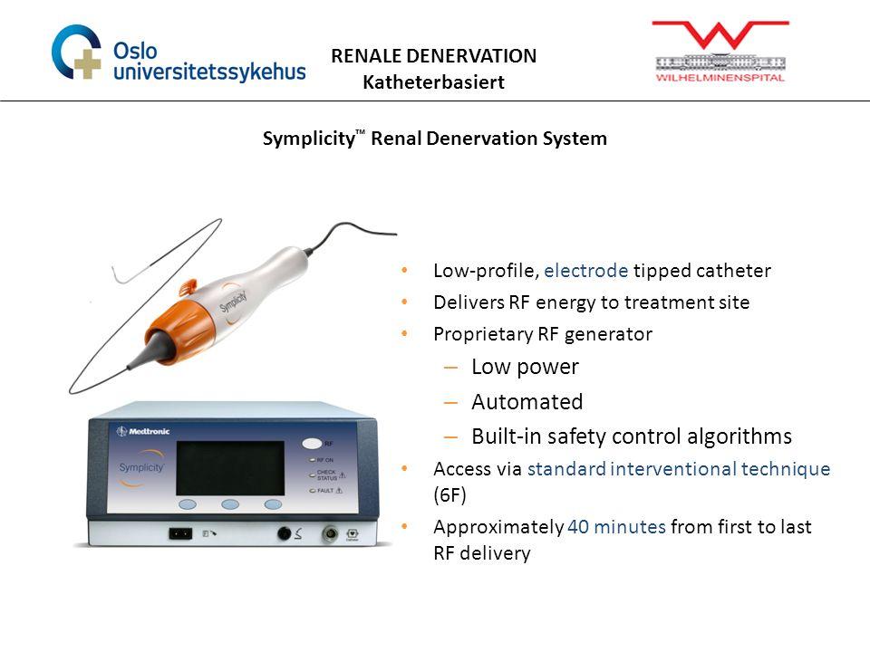 Symplicity™ Renal Denervation System