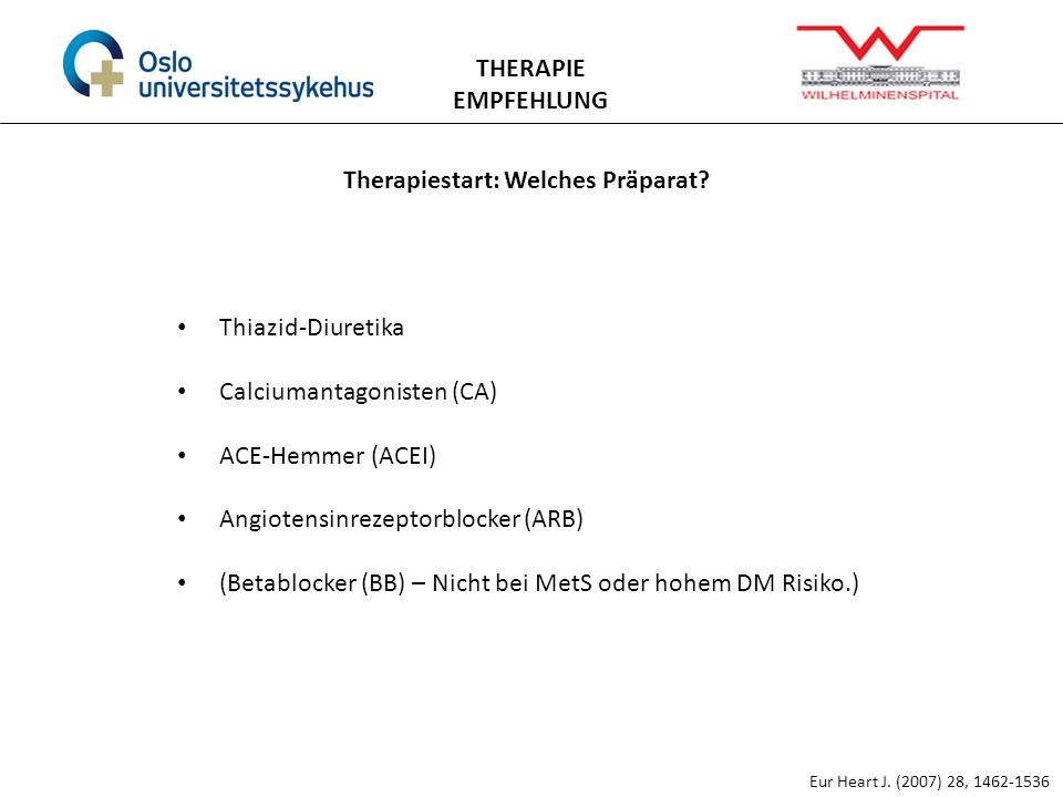 Therapiestart: Welches Präparat
