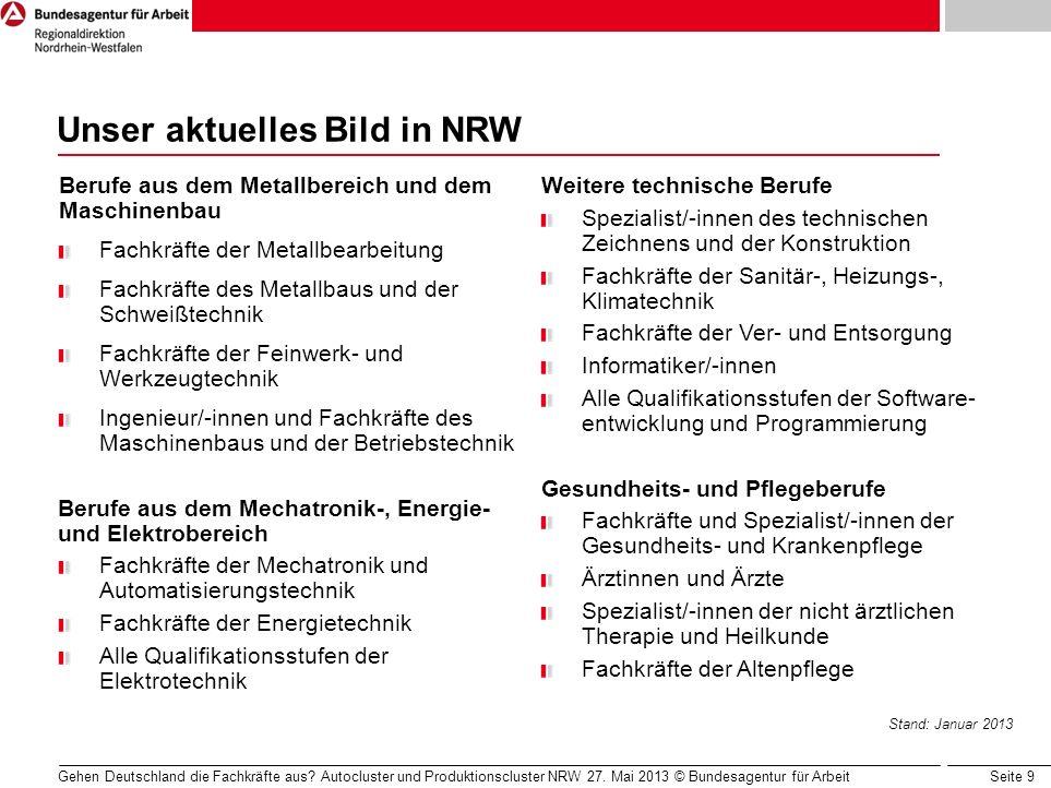 Unser aktuelles Bild in NRW