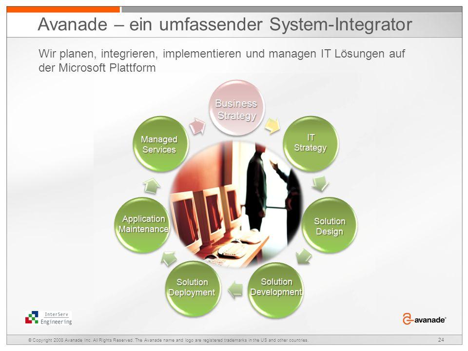 Avanade – ein umfassender System-Integrator