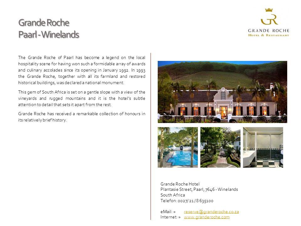 Grande Roche Paarl - Winelands