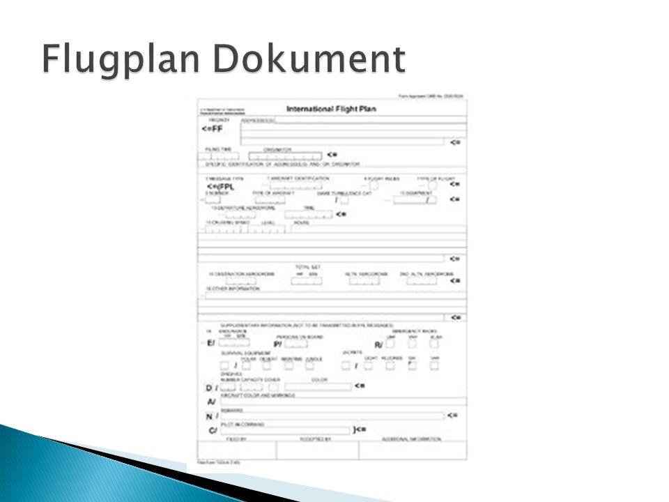 Flugplan Dokument
