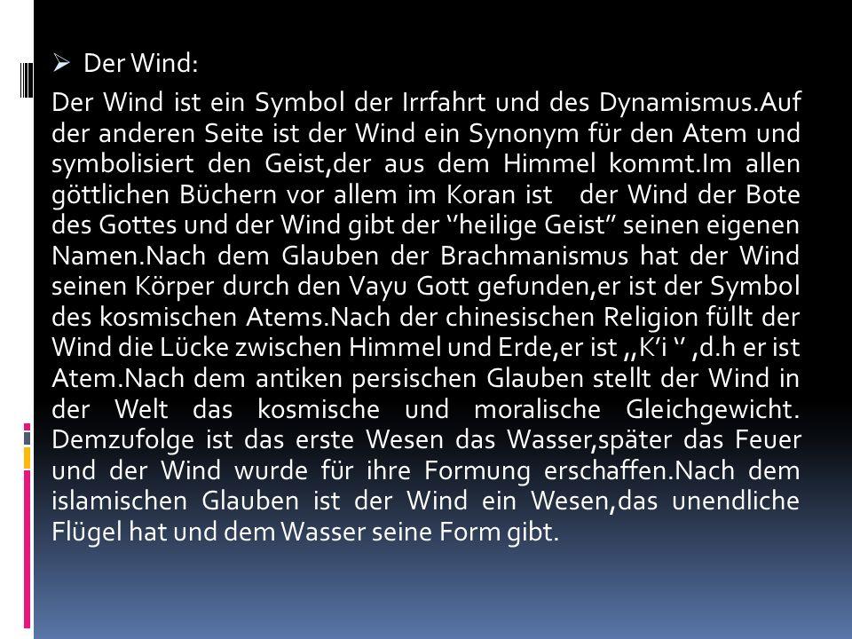 Der Wind: