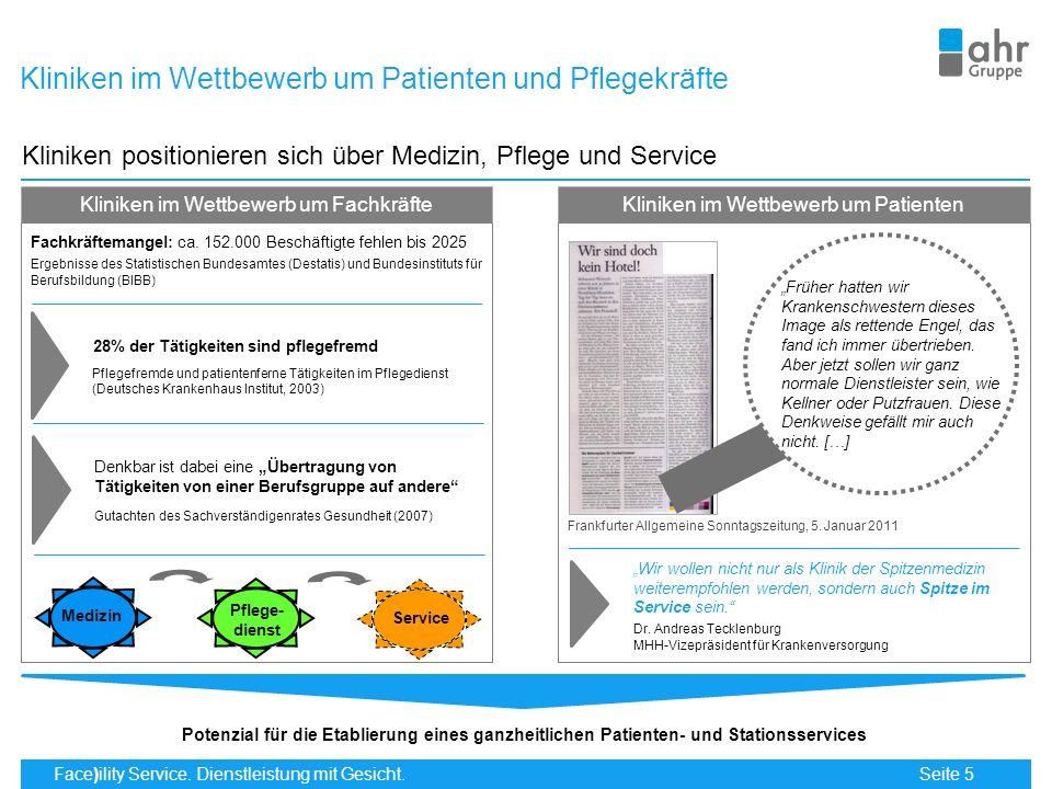 Kliniken im Wettbewerb um Patienten und Pflegekräfte