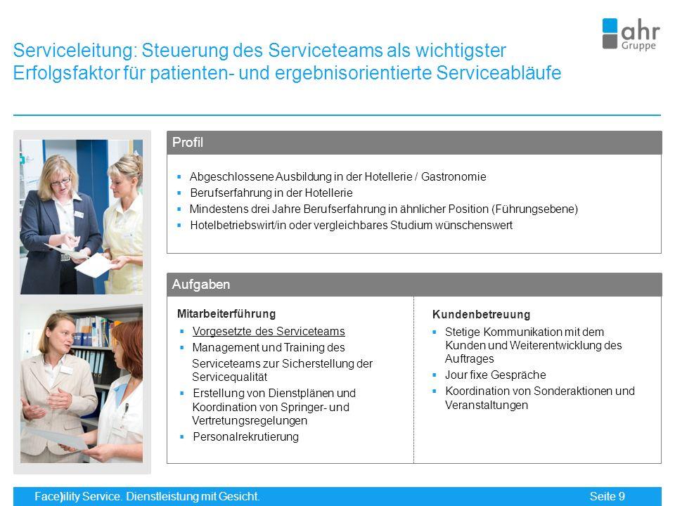Serviceleitung: Steuerung des Serviceteams als wichtigster Erfolgsfaktor für patienten- und ergebnisorientierte Serviceabläufe