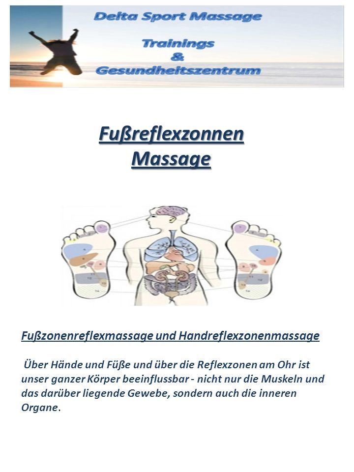 Fußreflexzonnen Massage