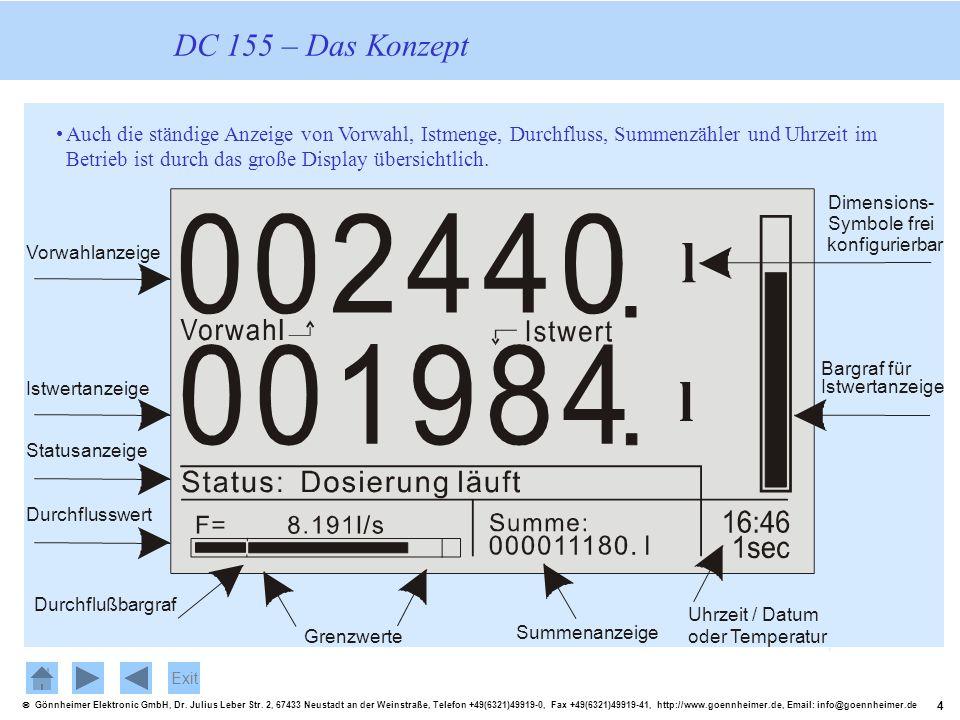 DC 155 – Das Konzept