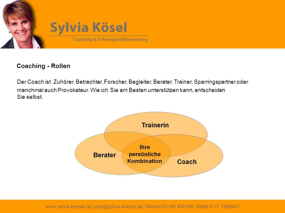 Coaching - Rollen