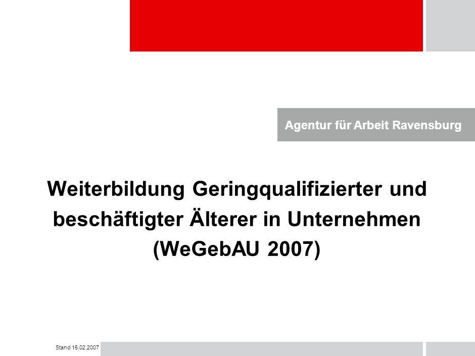 Agentur für Arbeit Ravensburg