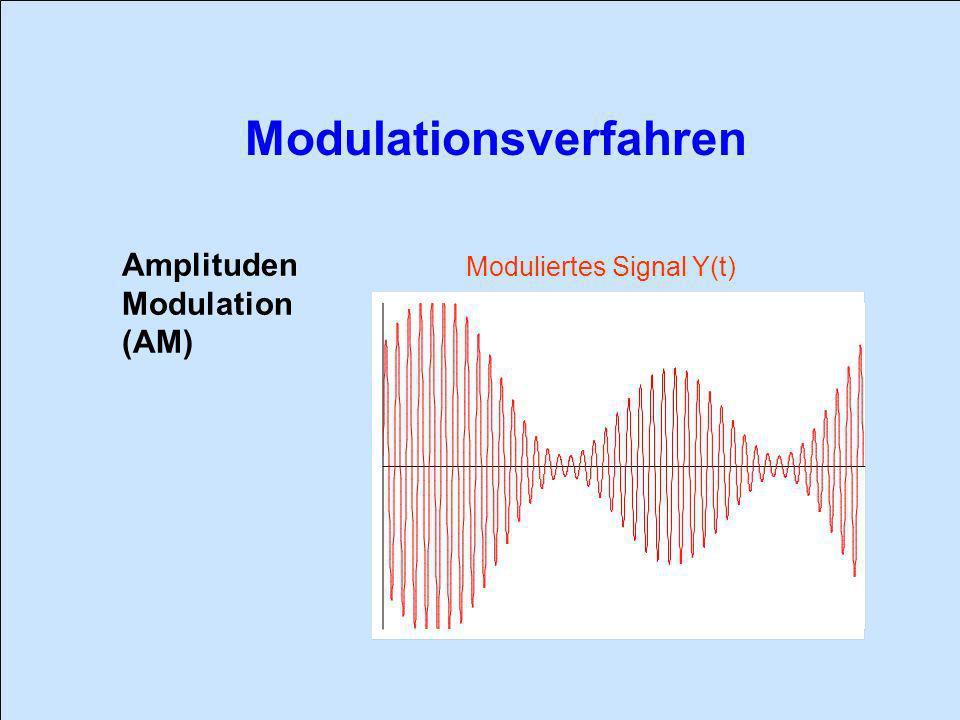 Amplituden Modulation (AM) Moduliertes Signal Y(t)