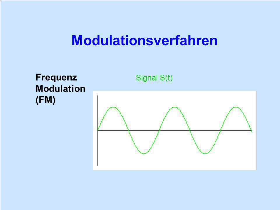 Frequenz Modulation (FM) Signal S(t)