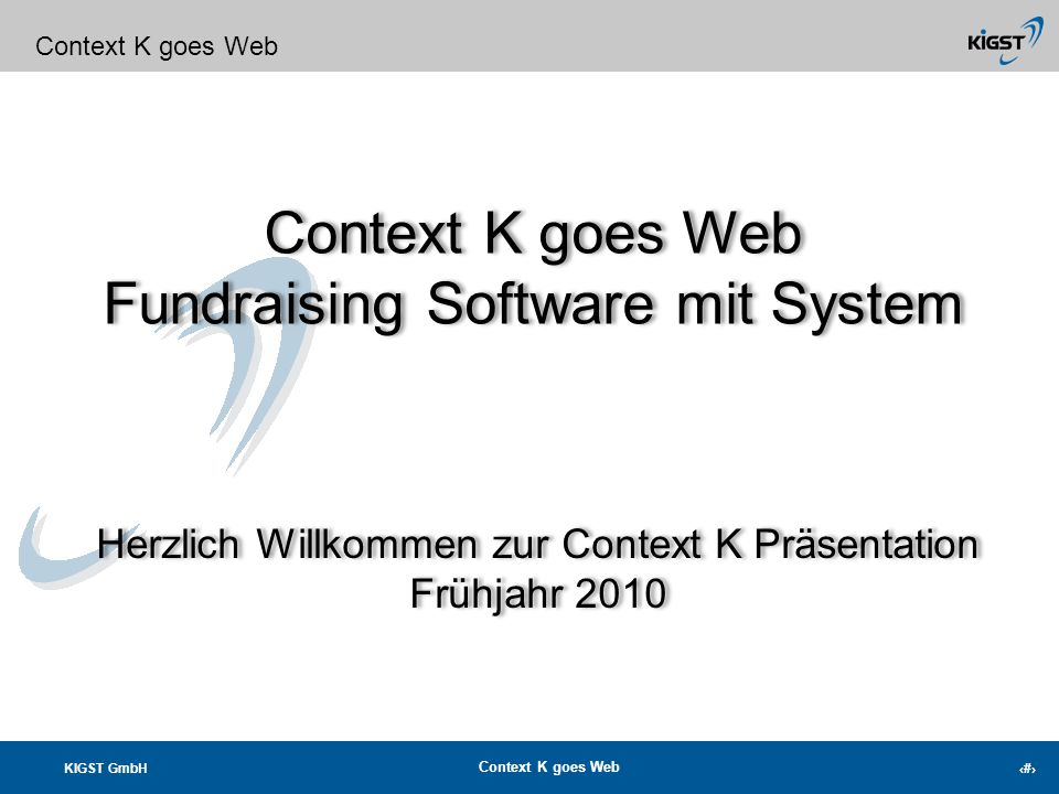 Fundraising Software mit System