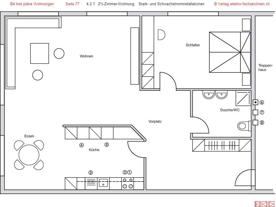 B4 Inst.pläne Wohnungen Seite 77