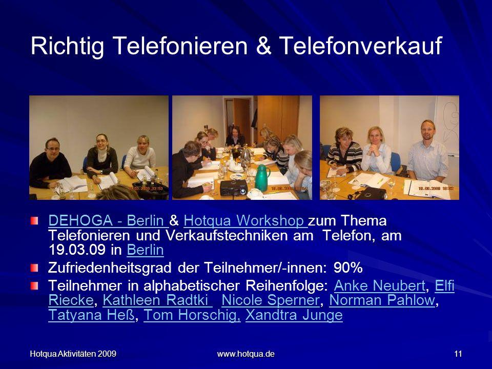 Richtig Telefonieren & Telefonverkauf