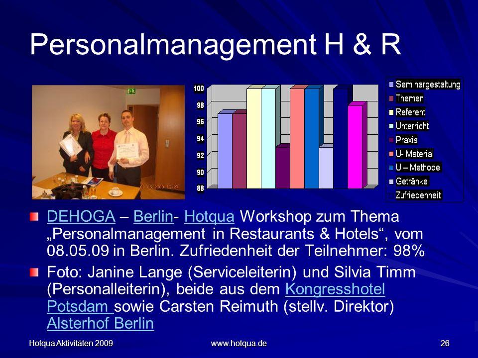 Personalmanagement H & R