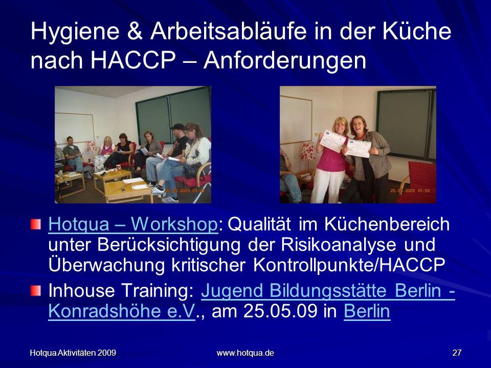 Hygiene & Arbeitsabläufe in der Küche nach HACCP – Anforderungen
