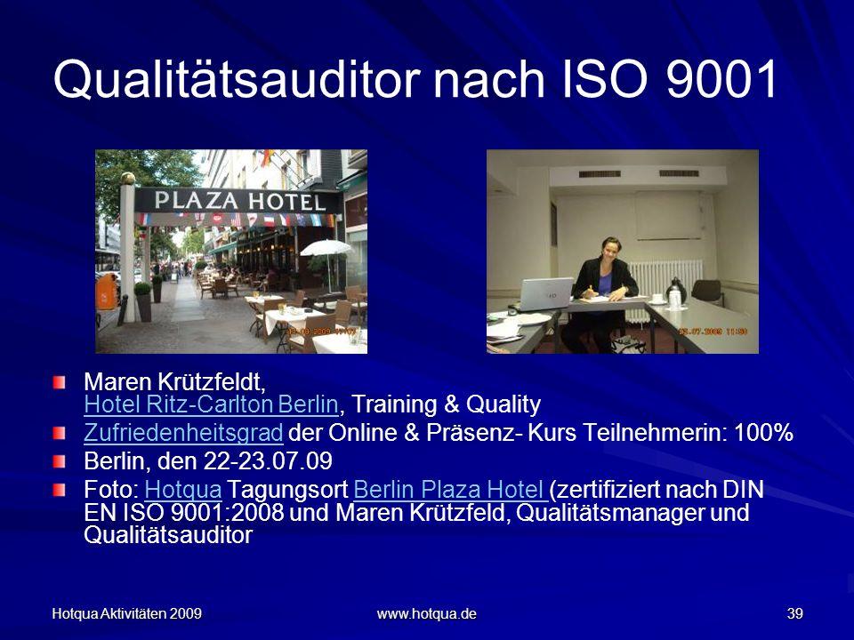 Qualitätsauditor nach ISO 9001