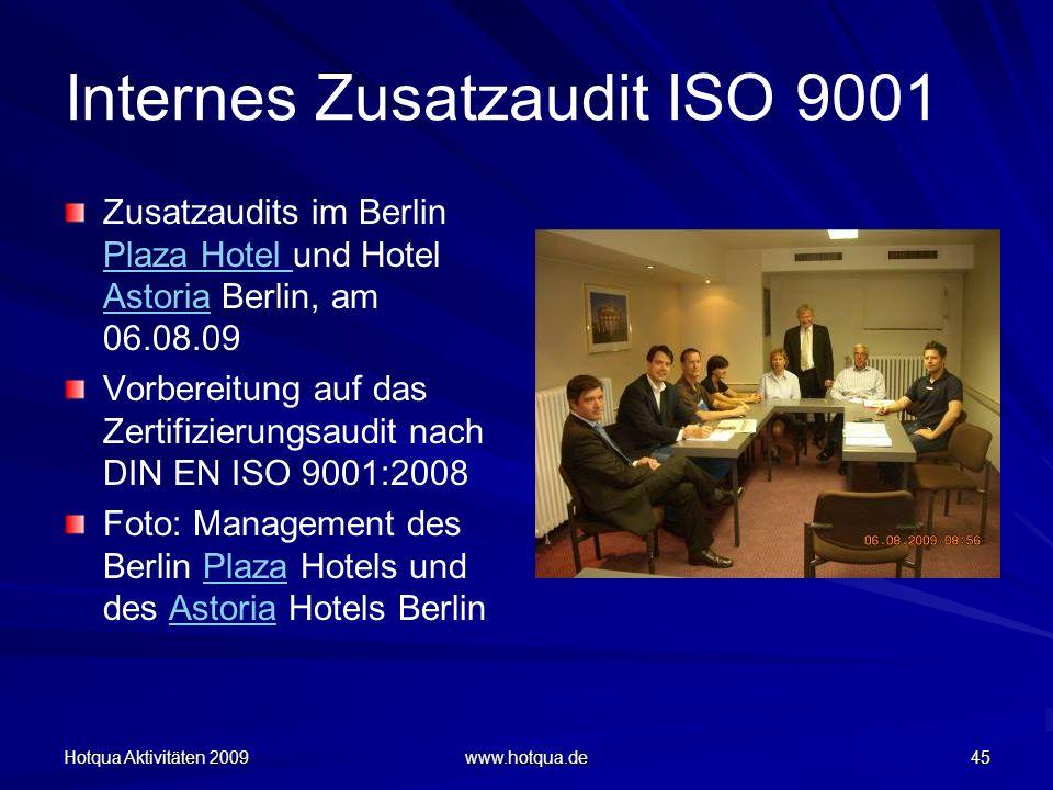 Internes Zusatzaudit ISO 9001