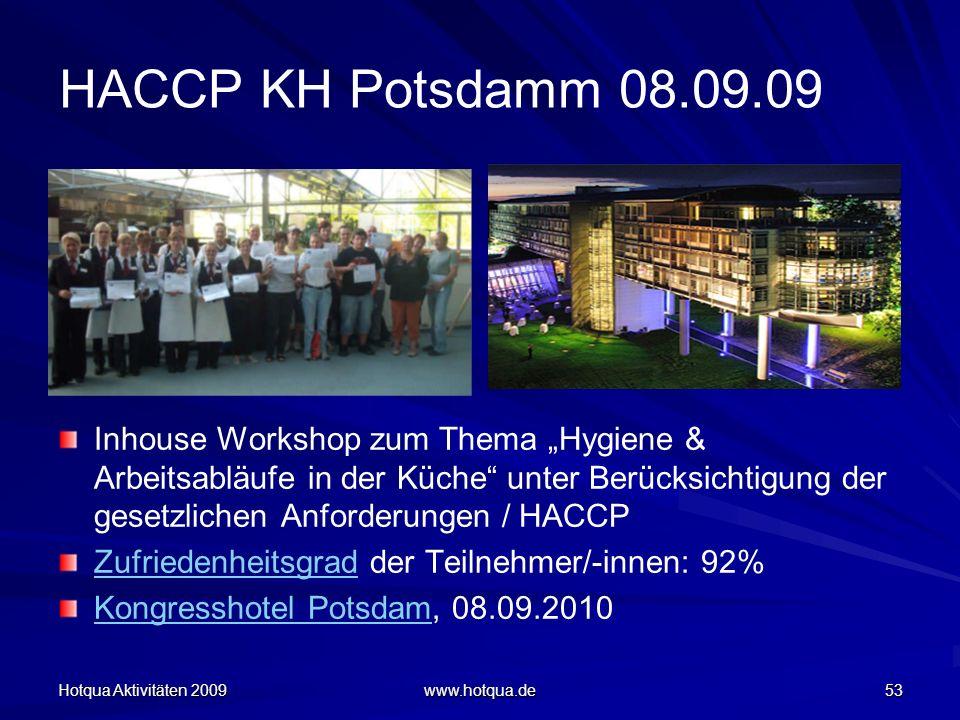 HACCP KH Potsdamm 08.09.09