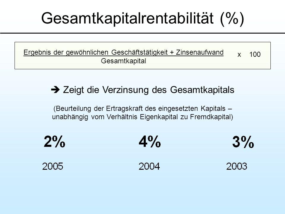 Gesamtkapitalrentabilität (%)