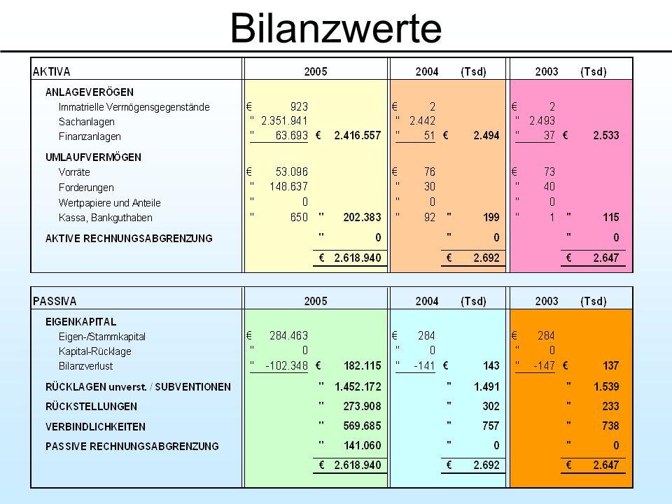 Bilanzwerte