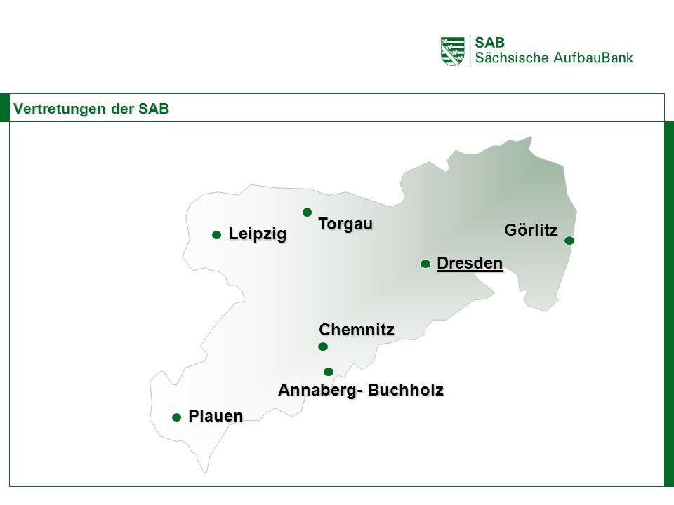Torgau Görlitz Leipzig Dresden Chemnitz Annaberg- Buchholz Plauen