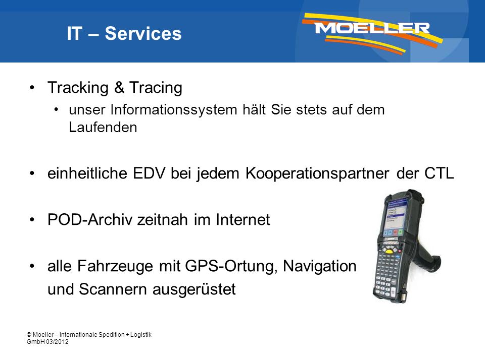 IT – Services Tracking & Tracing
