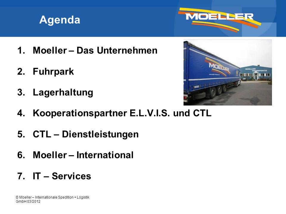 Agenda Moeller – Das Unternehmen Fuhrpark Lagerhaltung