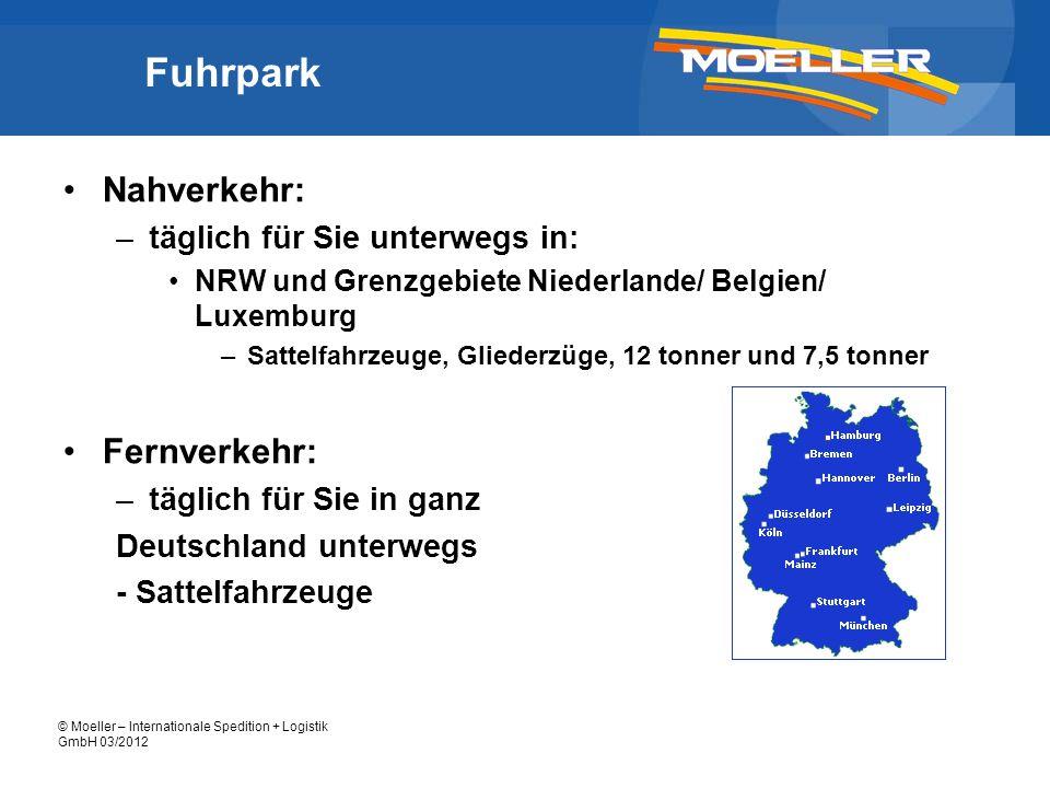 Fuhrpark Nahverkehr: Fernverkehr: täglich für Sie unterwegs in: