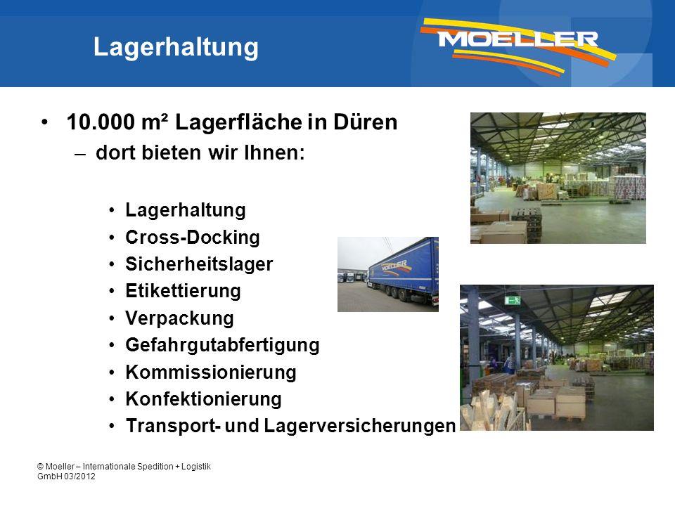 Lagerhaltung 10.000 m² Lagerfläche in Düren dort bieten wir Ihnen: