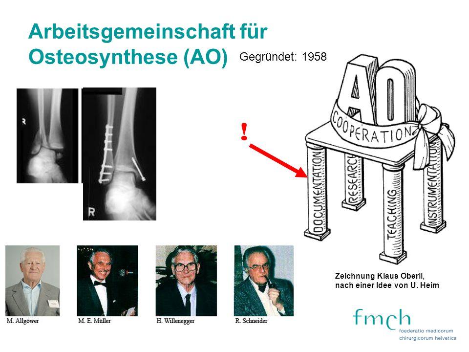 Arbeitsgemeinschaft für Osteosynthese (AO)