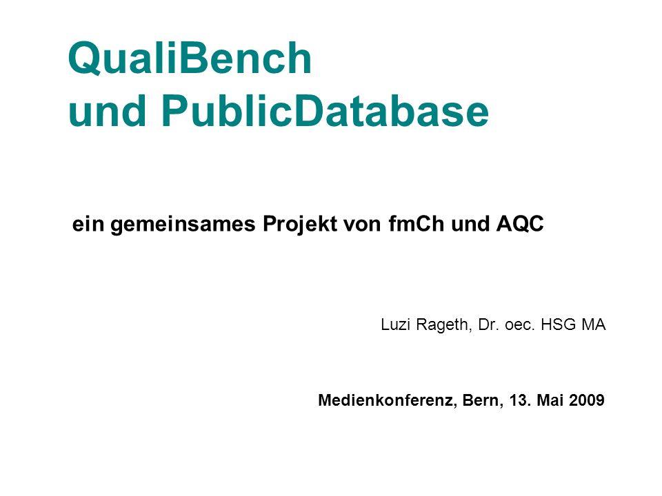 QualiBench und PublicDatabase