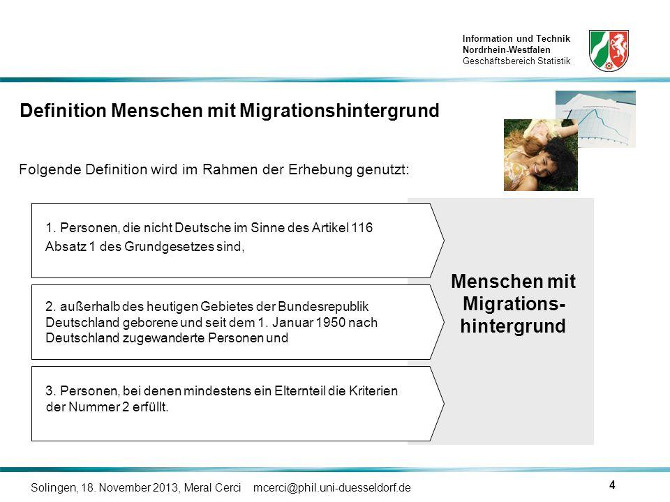 Menschen mit Migrations-