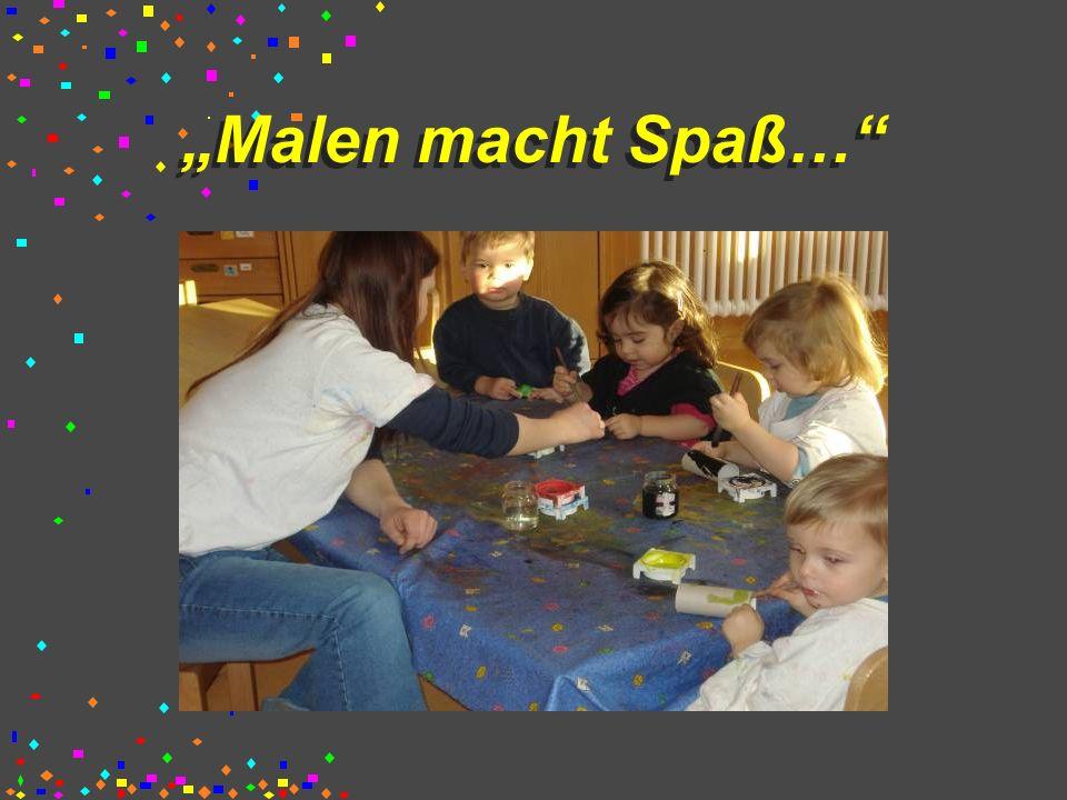 """""""Malen macht Spaß…"""