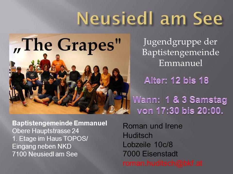 Jugendgruppe der Baptistengemeinde Emmanuel