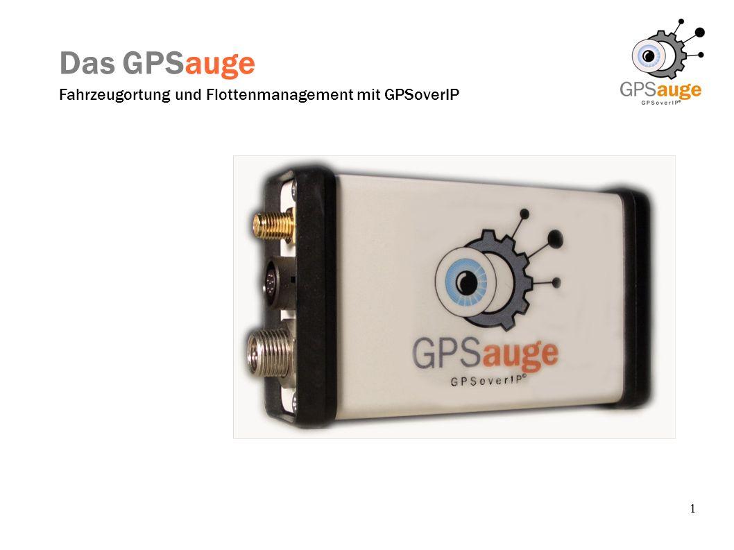 Das GPSauge Fahrzeugortung und Flottenmanagement mit GPSoverIP