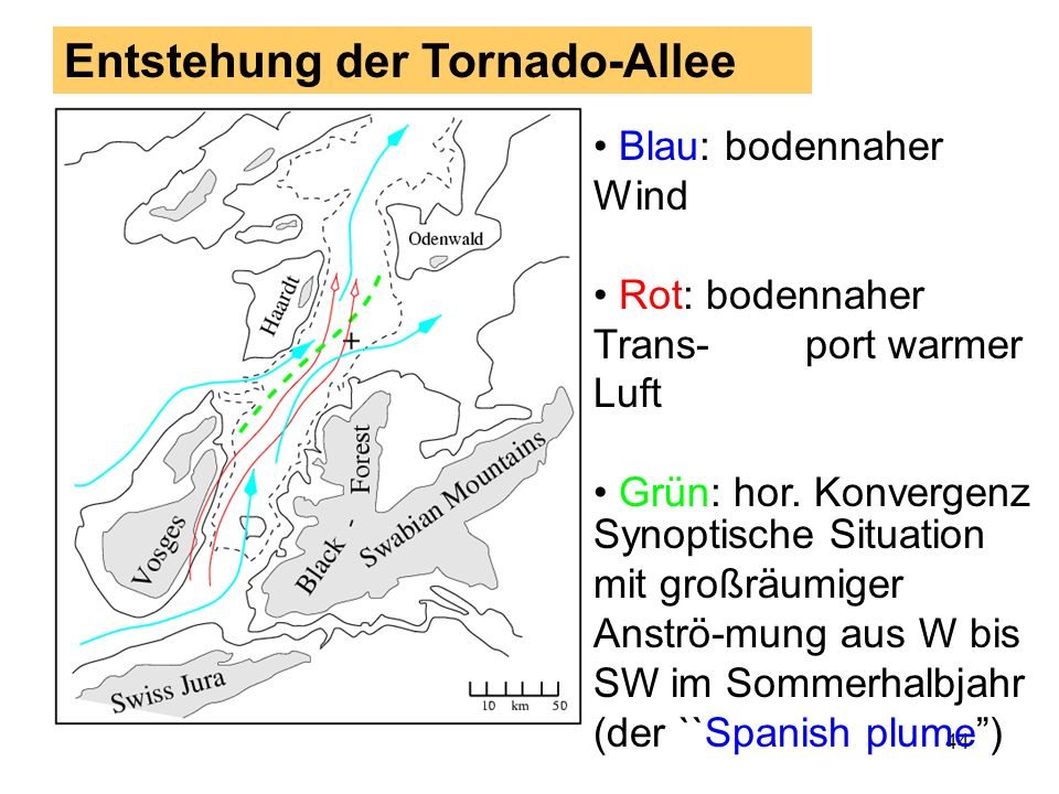 Entstehung der Tornado-Allee