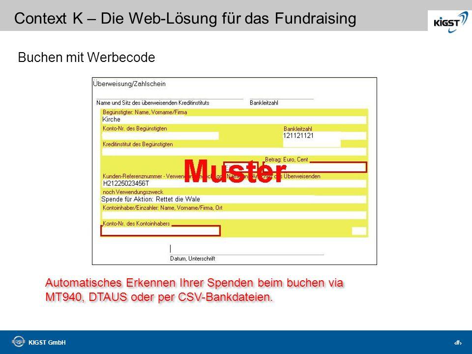 Buchen mit Werbecode Automatisches Erkennen Ihrer Spenden beim buchen via.