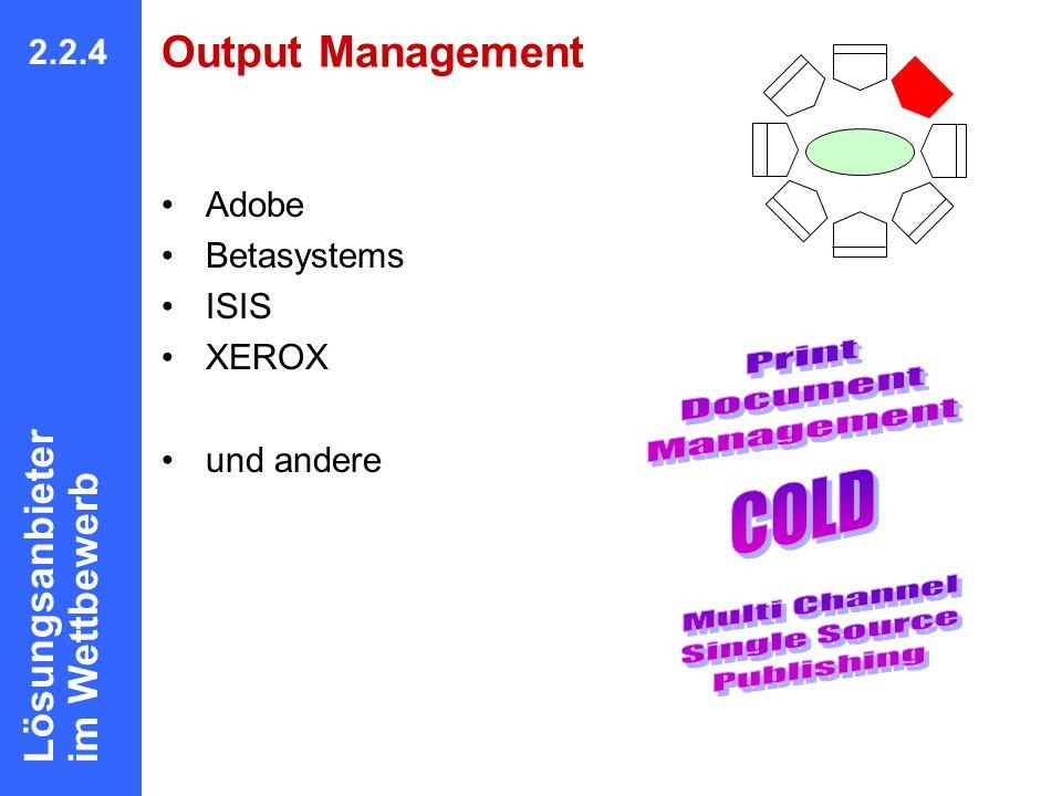 Print Document Management COLD Multi Channel Single Source Publishing