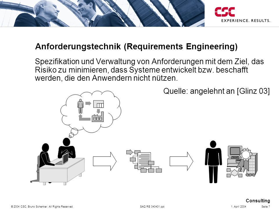 Anforderungstechnik (Requirements Engineering)