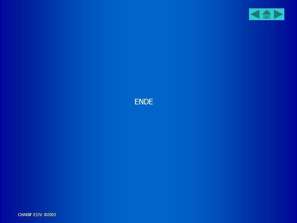 ENDE CHARIF-EDV ©2003