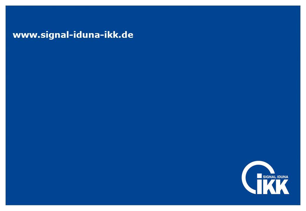 www.signal-iduna-ikk.de Werner Waterkamp / Werner Koop RD Rheine/RD Bocholt.